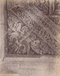Interior view of part of ceiling of the mandapa of the Mahadeva Temple, Ittagi 10031953